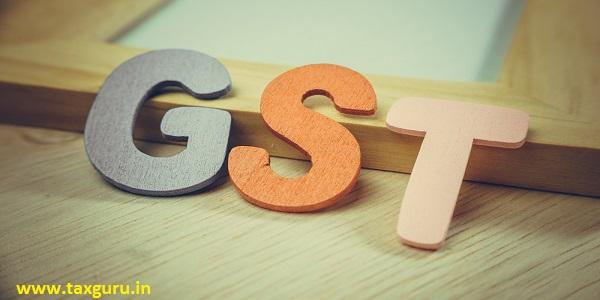 Retro colour GST alphabet letters