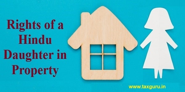 Rights of a Hindu daughter in property