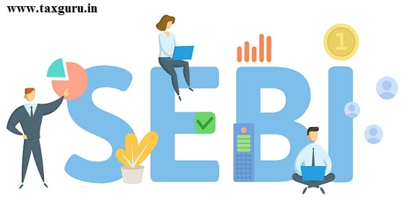 SEBI, Securities and Exchange Board of India. Concept with keywords, people and icons. Flat vector illustration. Isolated on white background