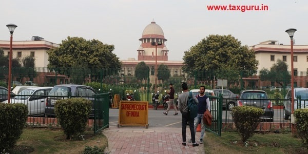 Supreme Court of India is located in New Delhi