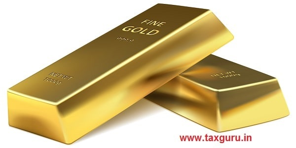 Two Gold bars on a white background