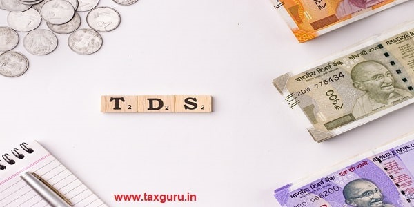 Word TDS written on wooden cubes stock image