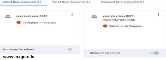 bank accounts 6.11