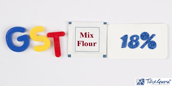 18% GST leviable on Mix Flour of different food products
