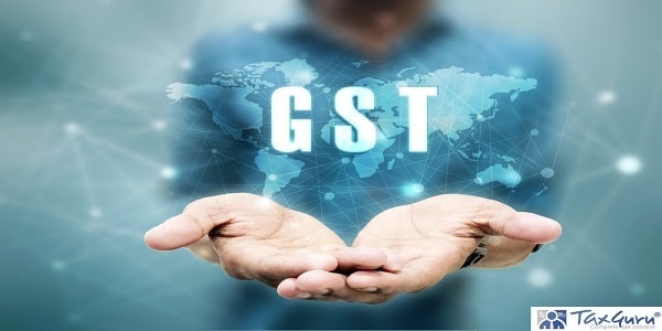 2d rendering GST Tax India with business graph
