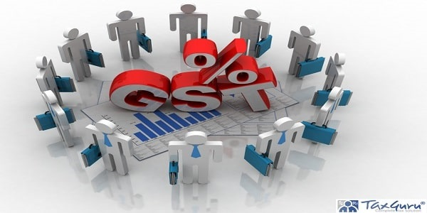 3d illustration Business Network with gst