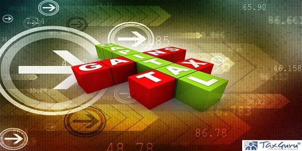 3d render business concept capital gains tax crossword cubes