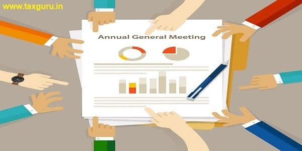 AGM Annual General Meeting shareholder board discuss company review financial profit chart hand collaboration on paper
