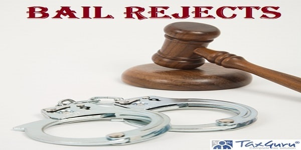 Bail Rejects text with gavel and handcuffs