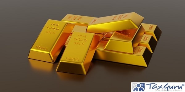 Bar of gold for Business and Investment.