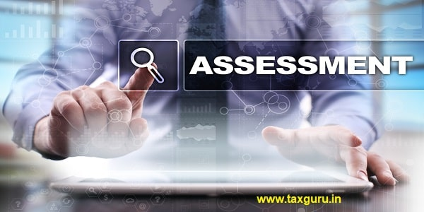 Businessman using tablet pc and selecting assessment