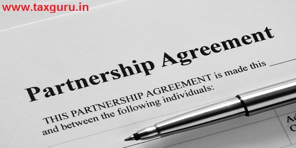 Close up Partnership Agreement Paper and Pen