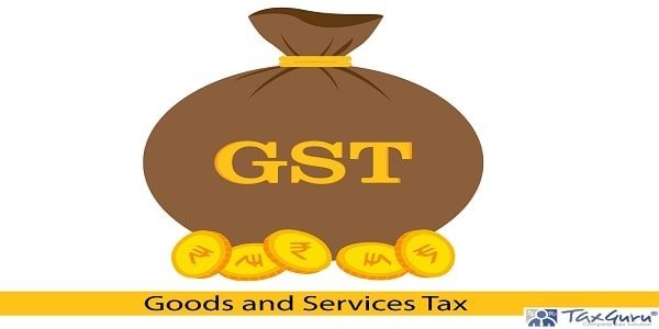 Creative vector illustration for Goods and Service Tax acronym GST