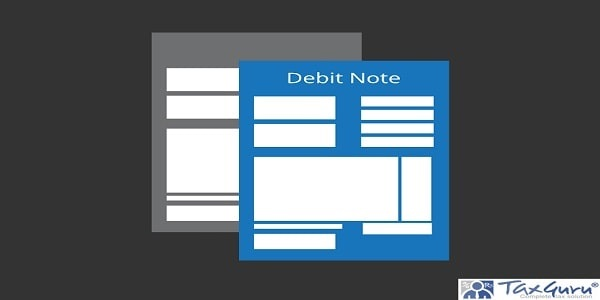 Debit Note as the Source document