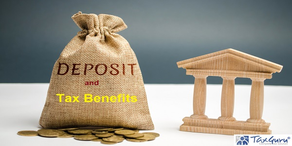 Deposits & Applicable Tax Benefits