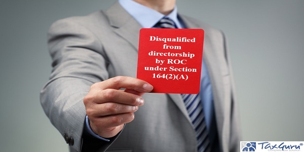 Disqualified from directorship by ROC under Section 164(2)(A)