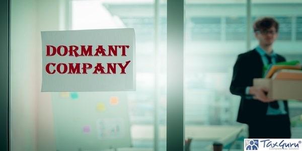 Dormant Company on windows