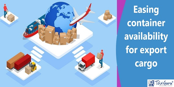 Easing container availability for export cargo