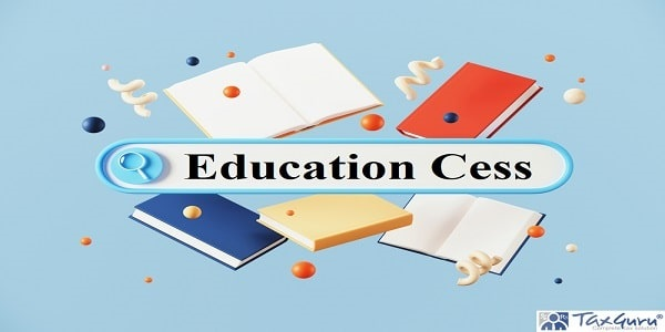 Education Cess - Minimal abstract background for online learning and education concept