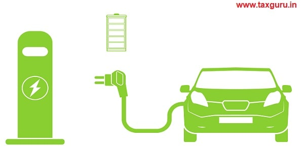 Electric car and Electrical charging station symbol