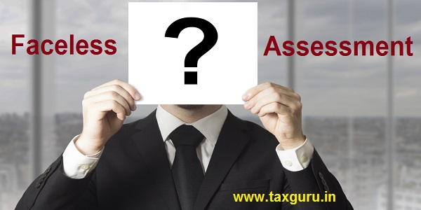 Faceless Assessment - Businessman hiding face behind sign question mark