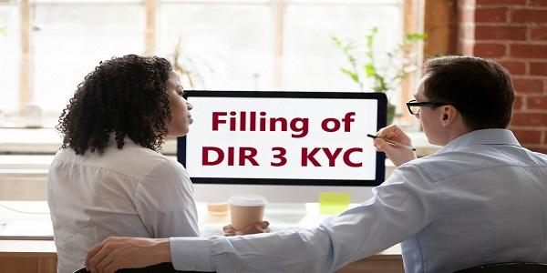 Filing of DIR-3 KYC