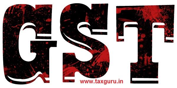 GST India 3d Illustration