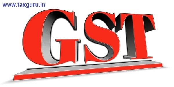 GST word in 3d letters to illustrate explosive growth in sales