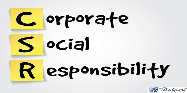 Hand writing acronym Corporate Social Responsibility (CSR) on yellow sticky notes