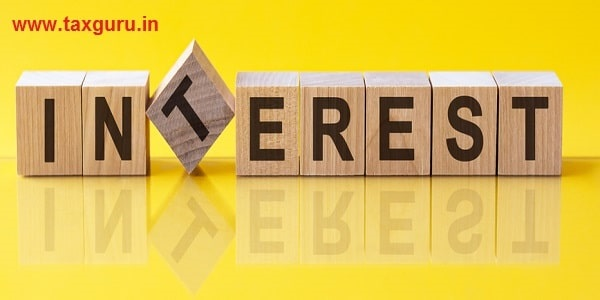 INTEREST word made with building blocks, concept