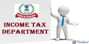 Income tax Department with lobo