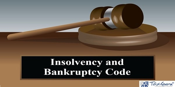 Judge gavel with insolvency and bankruptcy code text