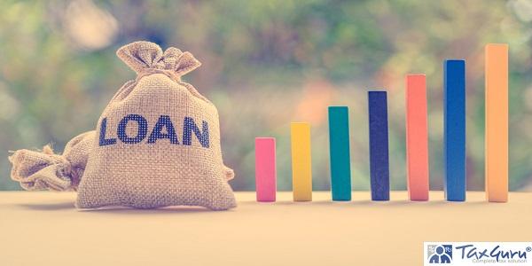 Loan or lending cash to buy asset concept