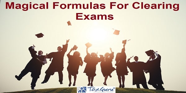 Magical Formulas For Clearing Exams