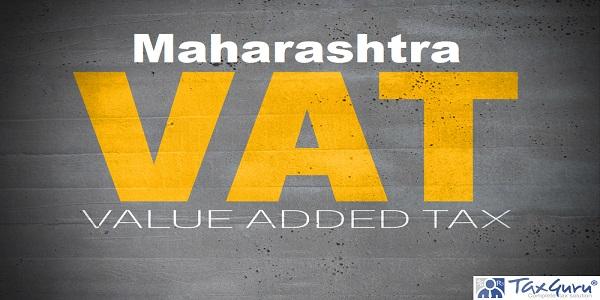 Maharashtra VAT on concrete wall background