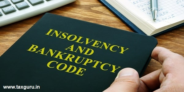 Man holds Insolvency and bankruptcy code IBC