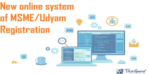 New online system of MSME and Udyam Registration