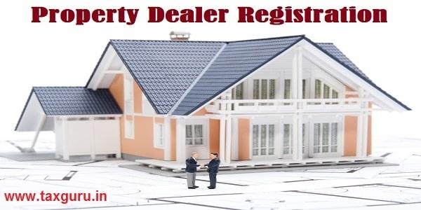 Property Dealer Registration - House agent sold building