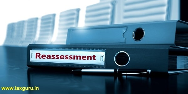 Reassessment - Business Concept on Blurred Background