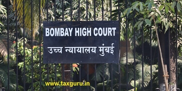 Sign board of the Bombay High Court