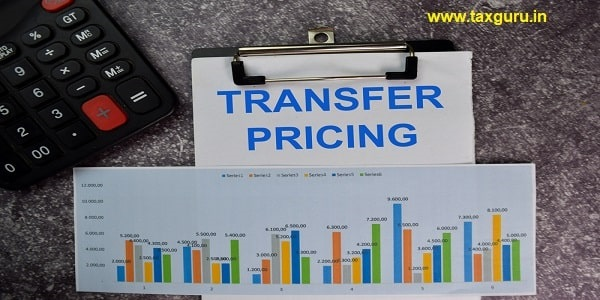 Transfer Pricing text write on a paperwork isolated on office desk