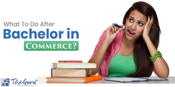 What to do after bachelor in commerce