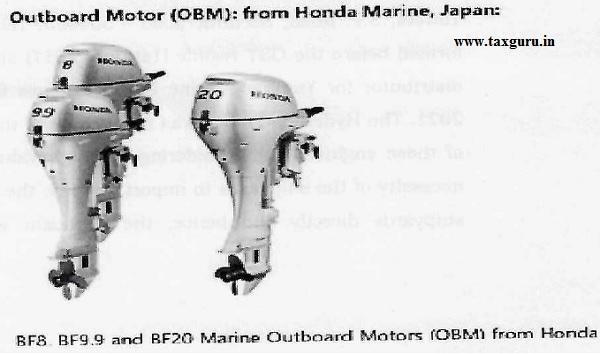 outboard motor (OBMM)