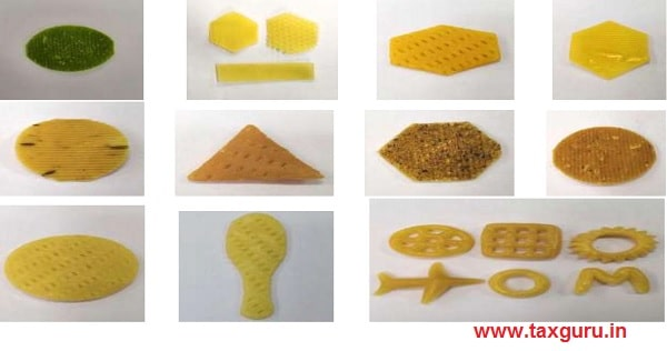 pictures of these products are reproduced herein below for ease of reference