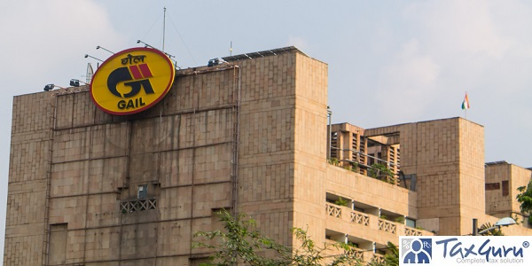 A view of GAIL Bhawan building located in the heart of South Delhi