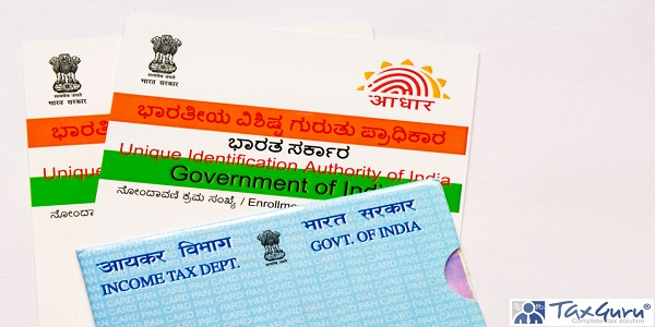 Aadhaar card and pan card which are issued by Government of India as an identity card