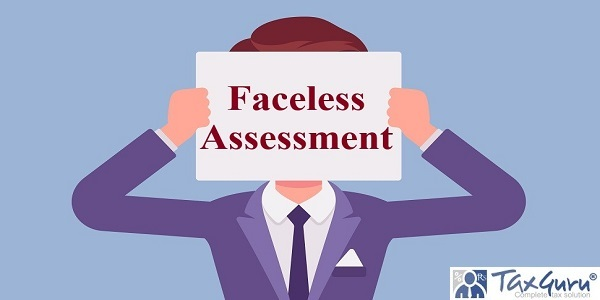 Anonymous man with Faceless Assessment