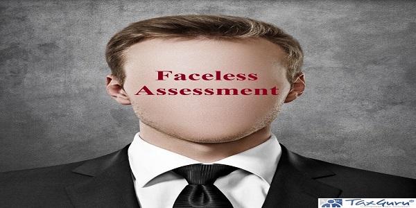 Faceless Assessment person portrait