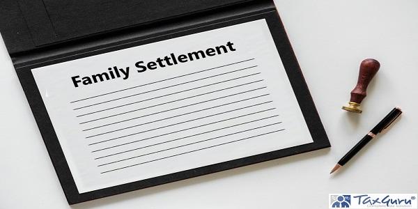 Family Settlement