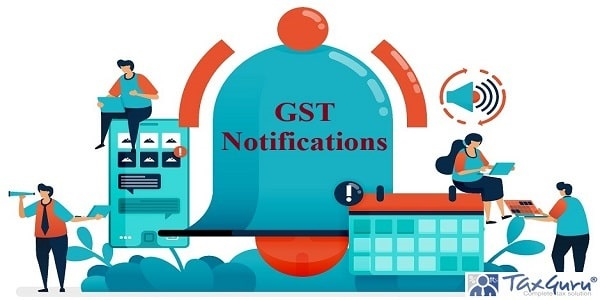 GST Notifications on calendar schedule for alarm
